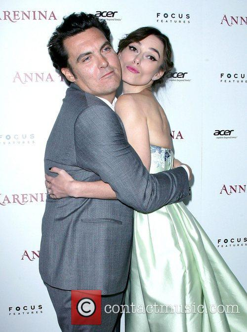 Director Joe Wright and Keira Knightley 5