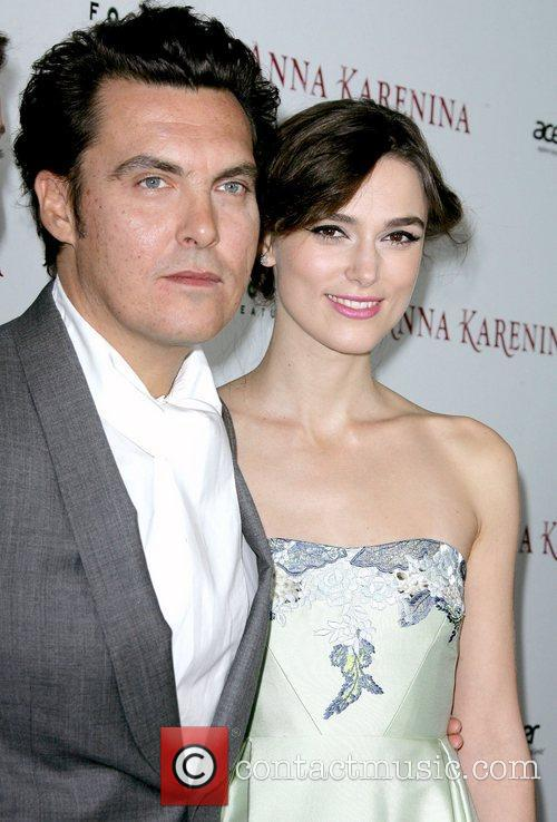Director Joe Wright and Keira Knightley 1