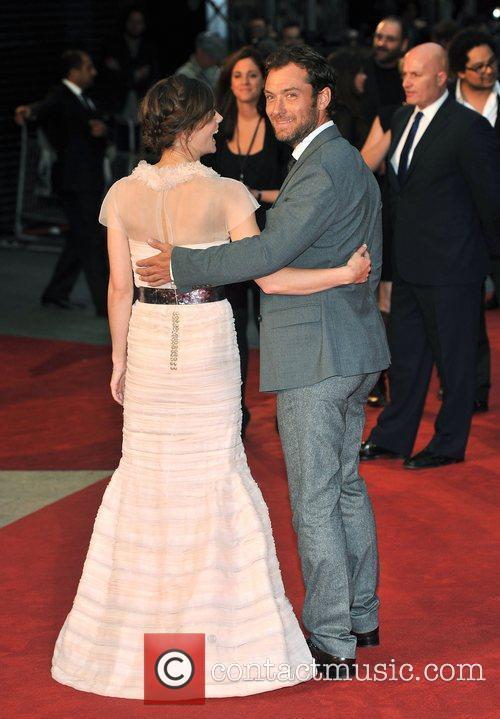 Keira Knightley, Jude Law, Odeon Leicester Square
