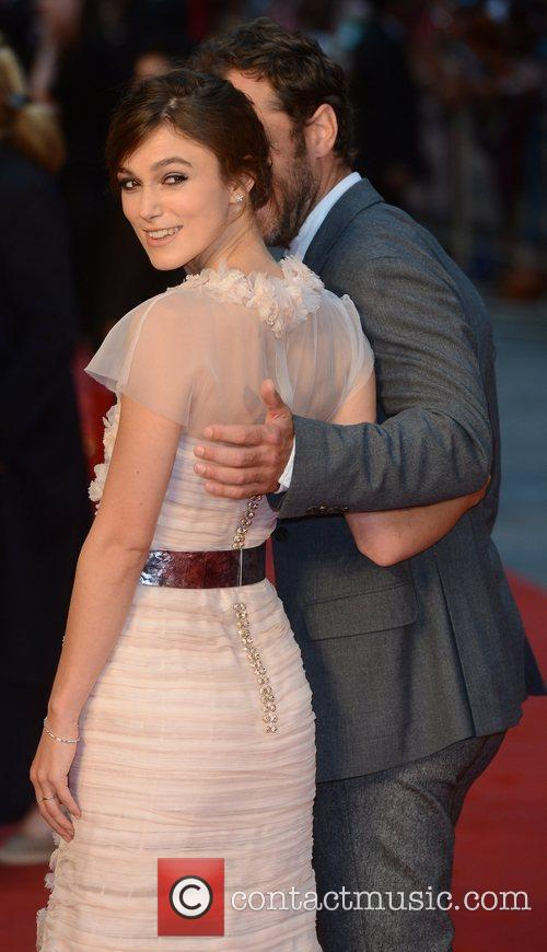 Keira Knightley, Jude Law and Odeon Leicester Square 6