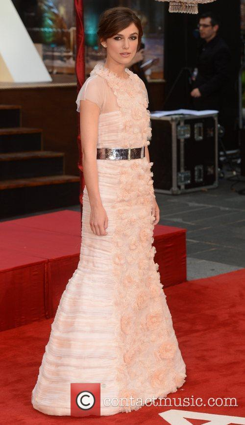 Keira Knightley and Odeon Leicester Square 2