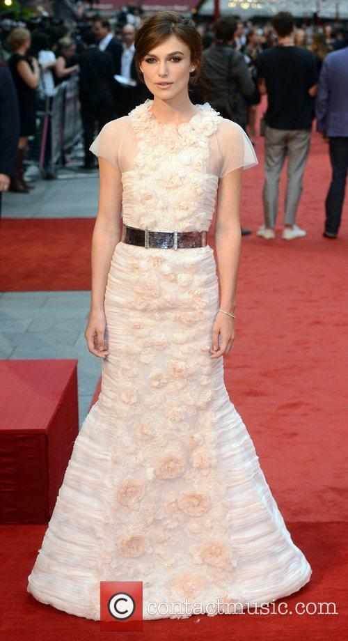 Keira Knightley and Odeon Leicester Square 5