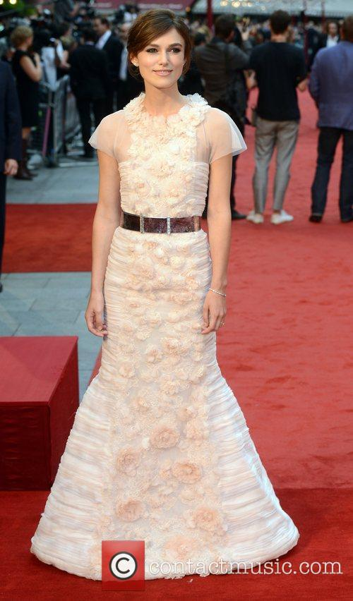 Keira Knightley and Odeon Leicester Square 1