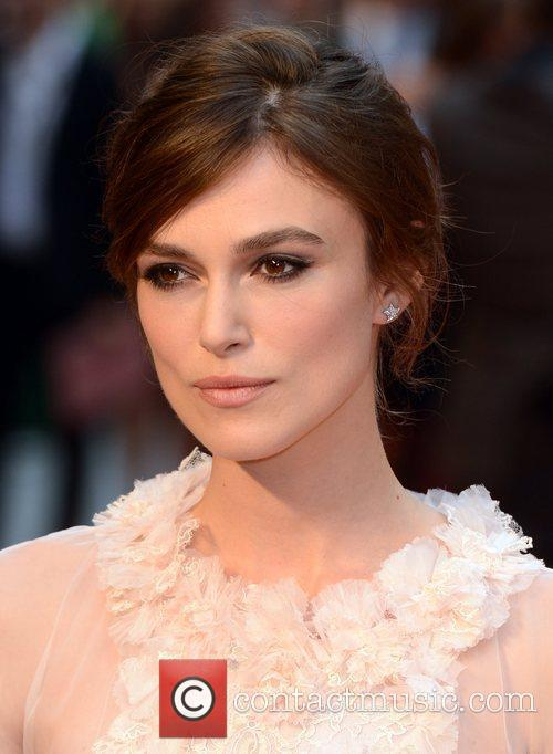 Keira Knightley and Odeon Leicester Square 6