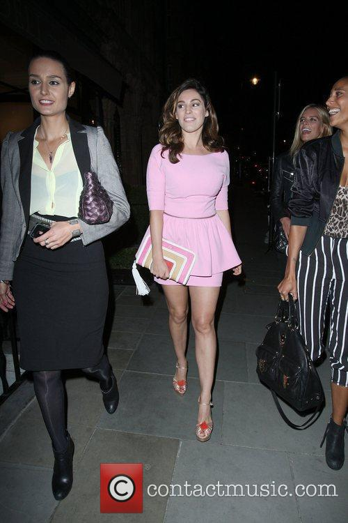 Kelly Brook and Leona Lewis 3