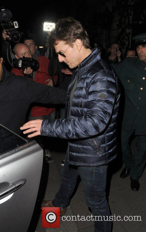 tom cruise leaving annabels private members club 4089254