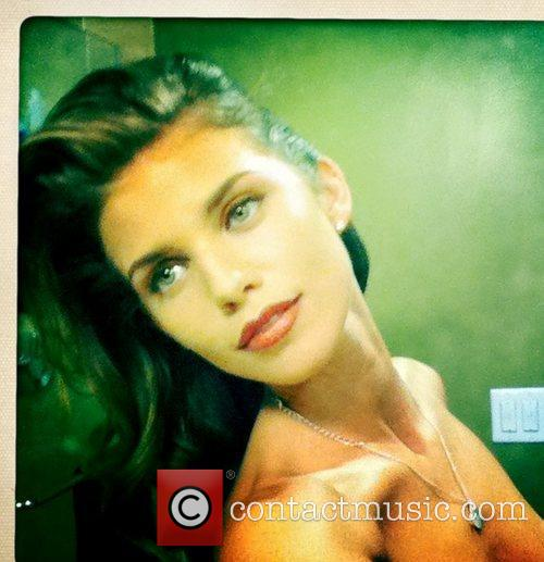 Actress AnnaLynne McCord was left red faced after...