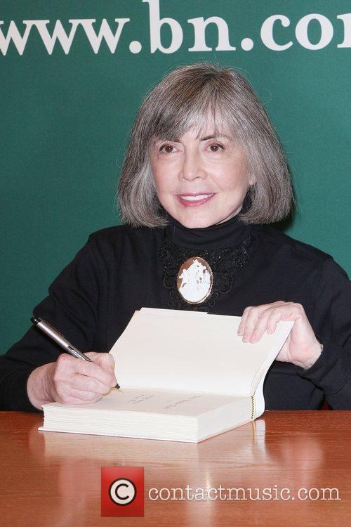 Anne Rice promotes 'The Wolf Gift' at Barnes...