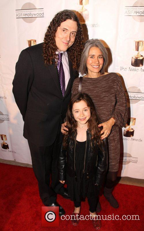 Weird Al Yankovic The 39th Annual Annie Awards...