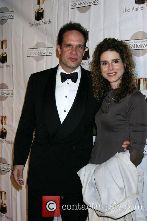 Diedrich Bader with wife Dulcy Rogers The 39th...