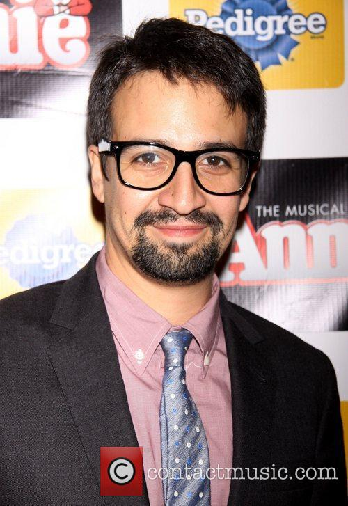 Lin-manuel, Miranda and Palace Theatre 1