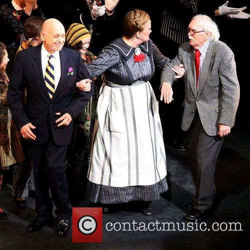 Charles Strouse, Thomas Meehan, Martin Charnin and Palace Theatre 3