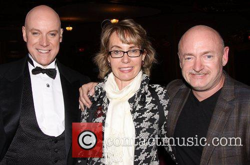 Anthony Warlow, Gabrielle Giffords, Mark E. Kelly and Palace Theatre 1