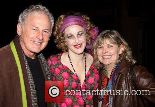 Victor Garber, Katie Finneran, Debra Monk and Palace Theatre 2