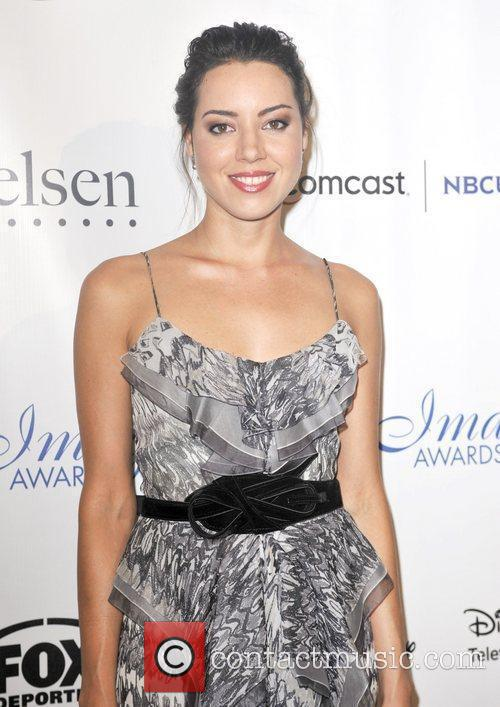 Aubrey Plaza The 27th Annual Imagen Awards Gala...
