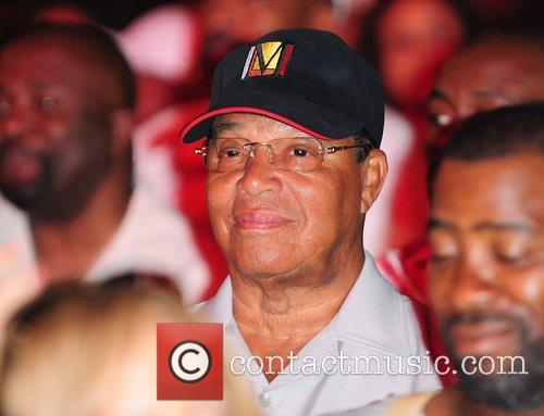 Minister Louis Farrakhan at the 7th Annual Jazz...
