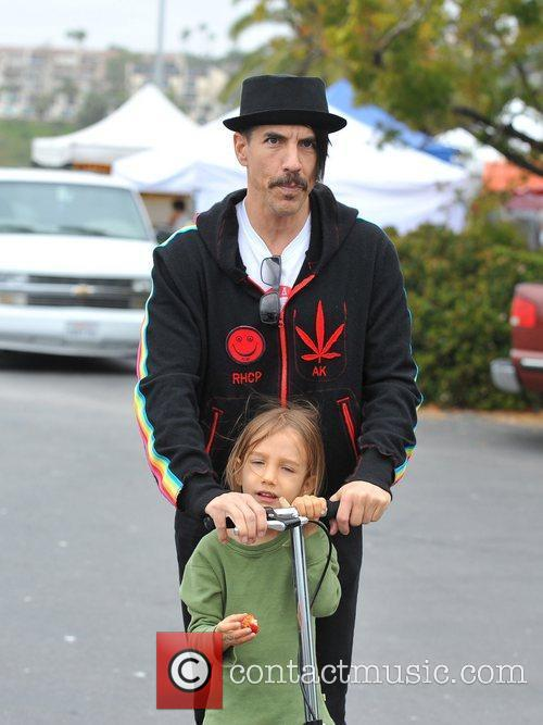 Anthony Kiedis and Red Hot Chili Peppers 3