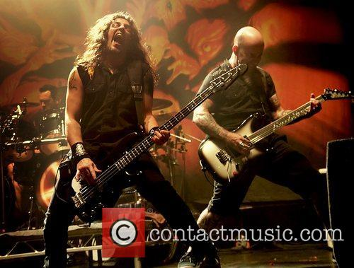 Frank Bello and Scott Ian 1