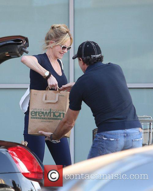 Melanie Griffith and Antonio Banderas 4
