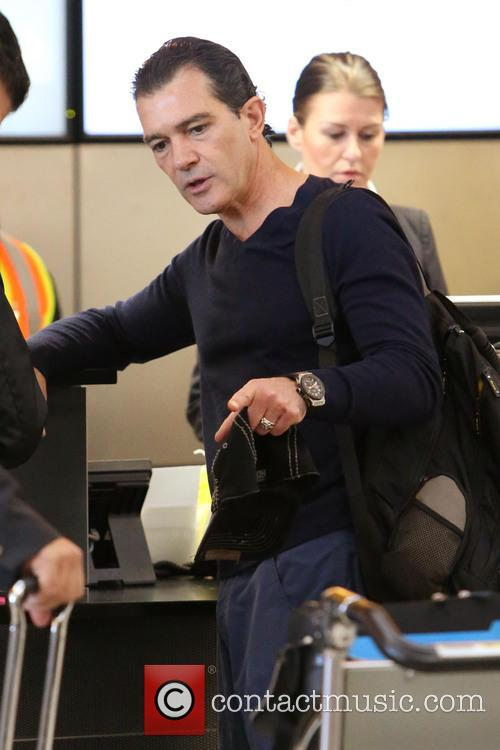 Antonio Banderas, Airport and Air France International 19