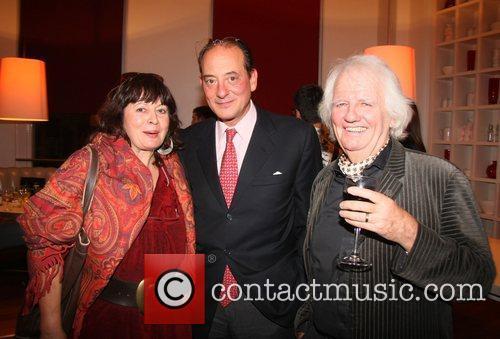 Dora Bertolutti Howard, Uberto Vanni d'Archirafi and Ken...
