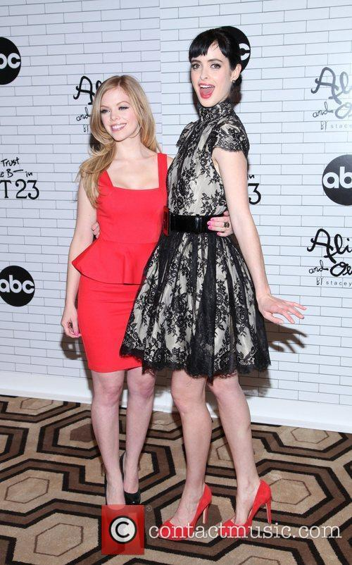 Dreama Walker, Krysten Ritter and Tribeca Grand Hotel 2