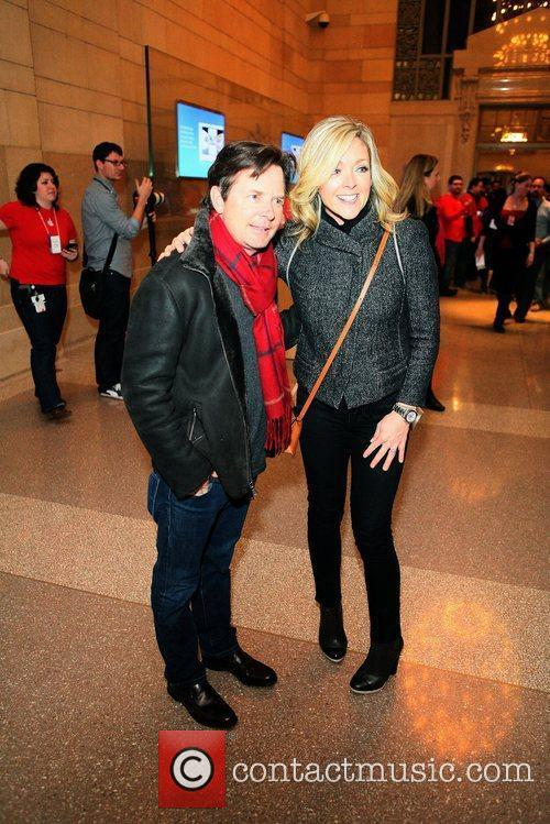 Michael J Fox and Jane Krakowski 1