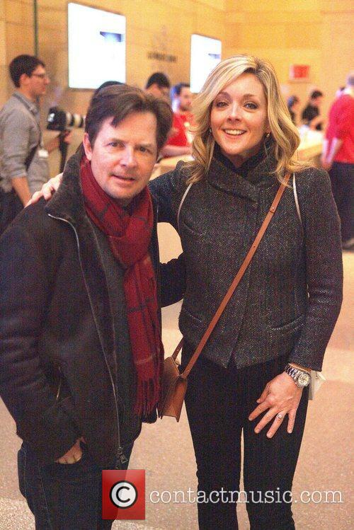 Michael J Fox and Jane Krakowski 4