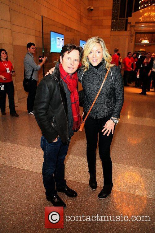 Michael J Fox and Jane Krakowski 2