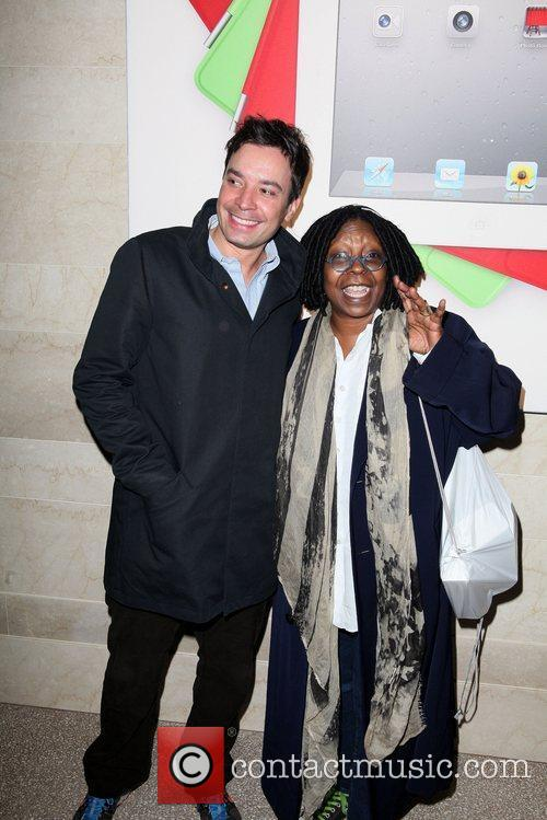 Jimmy Fallon and Whoopi Goldberg