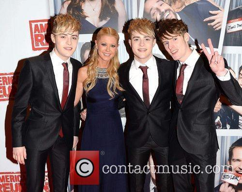 Jedward, Tara Reid, brother Kevin Grimes The Irish...