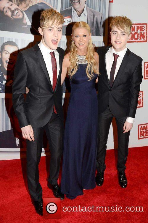 Jedward, Tara Reid The Irish Premiere of 'American...