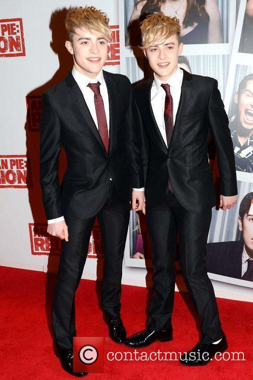 Jedward The Irish Premiere of 'American Reunion', The...