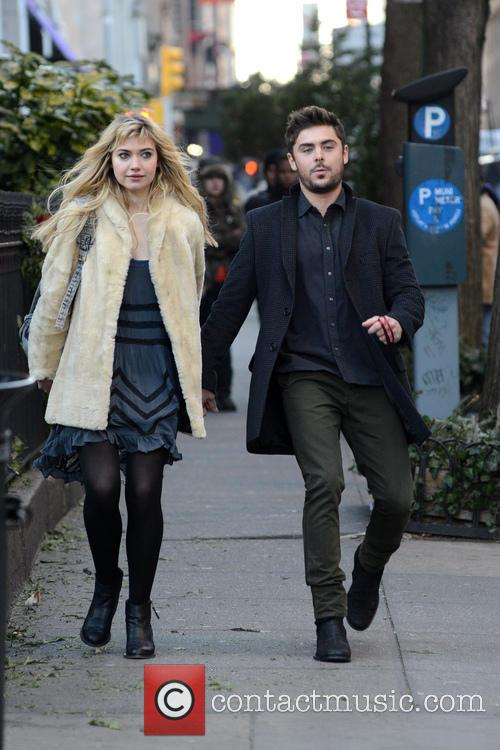 Zak Efron and Imogen Poots 6