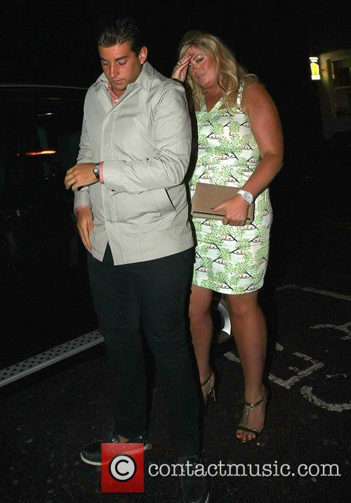 James Argent and girlfriend Gemma Collins from 'The...
