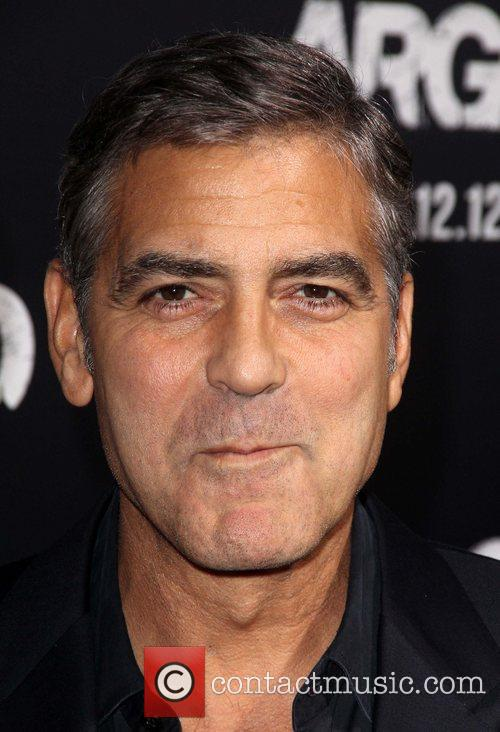 George Clooney arrives at the 'Argo' - Los...