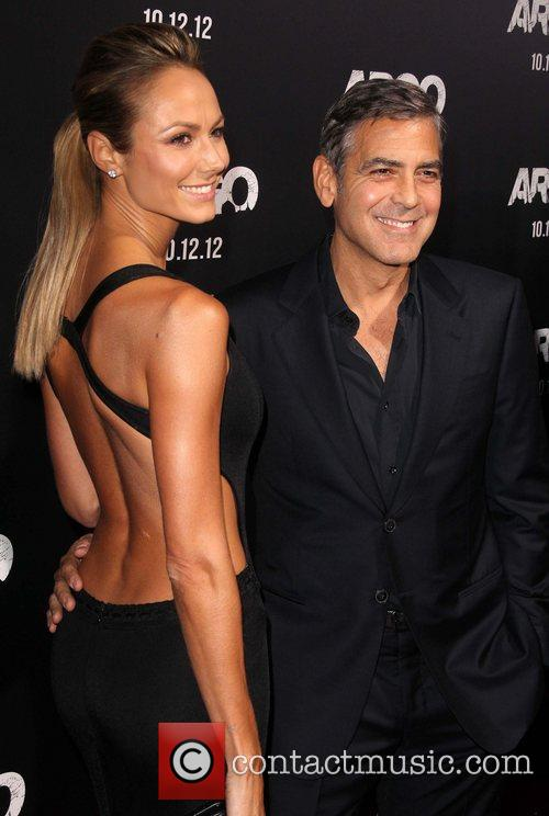 Stacy Keibler and George Clooney 1