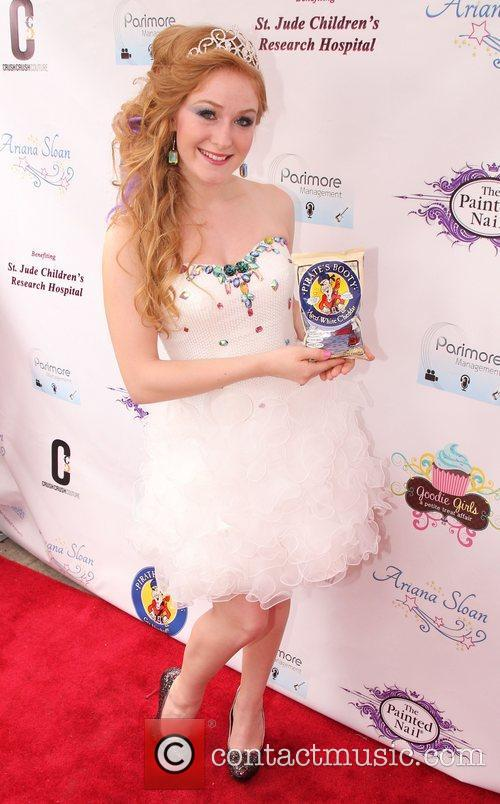 Ariana Sloan's Sweet 16th birthday party and CD...