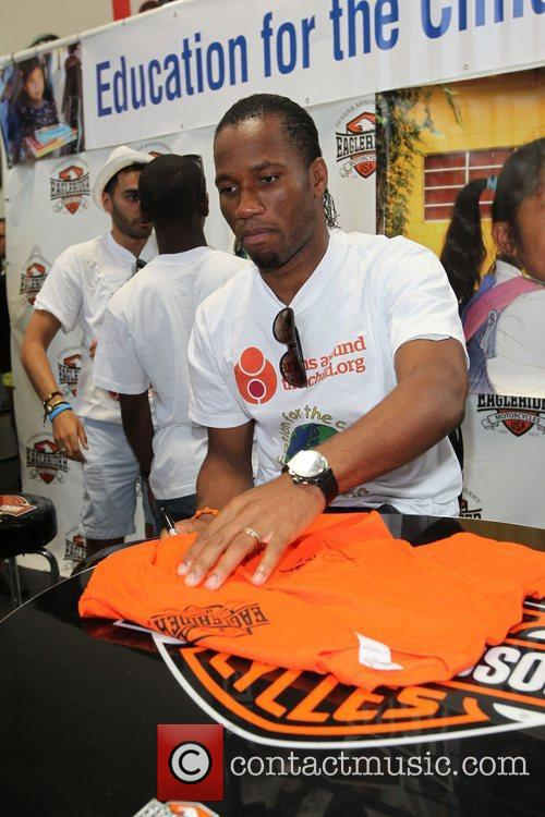 Didier Drogba Professional football players from the English...