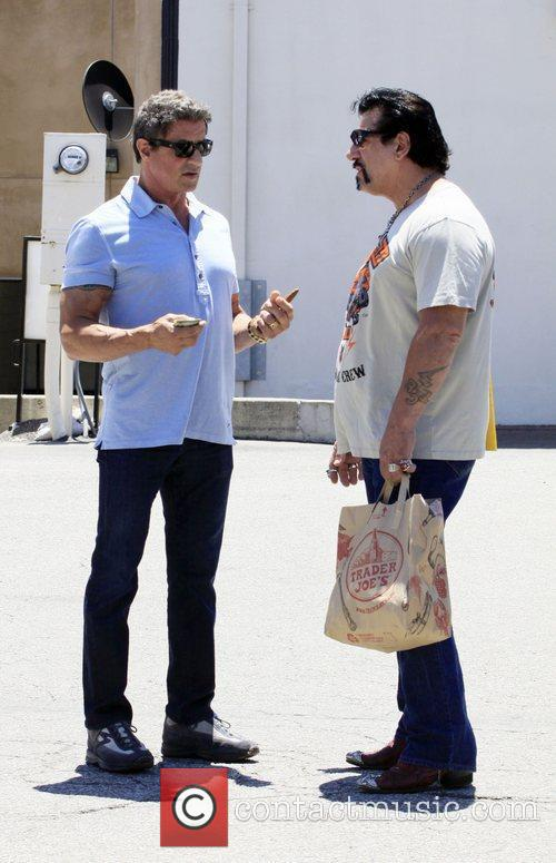 sylvester stallone and friends after having lunch 3970632