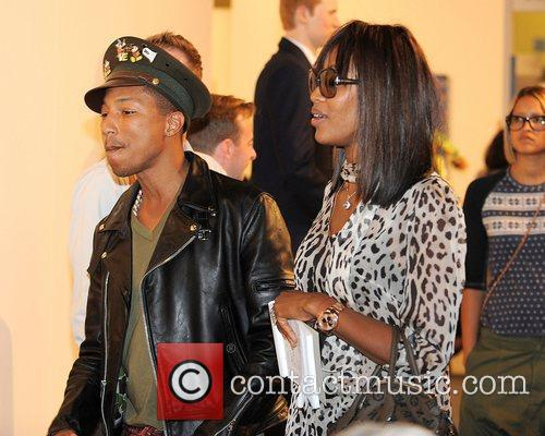 Pharrell Williams and Naomi Campbell 1