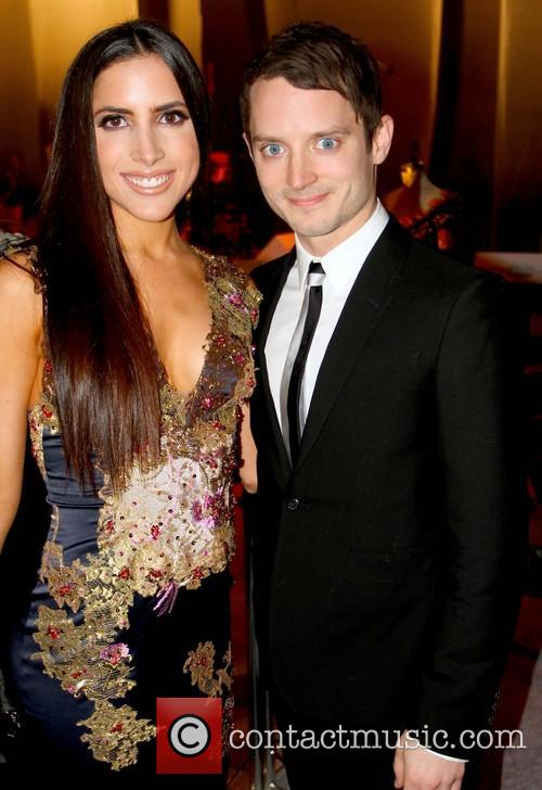 Caren Brooks and Elijah Wood 6