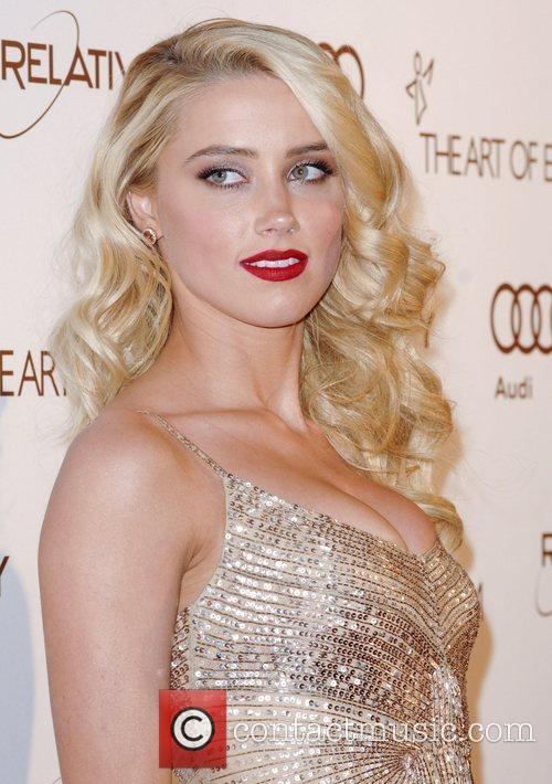 Amber Heard  2012 Art of Elysium Heaven...