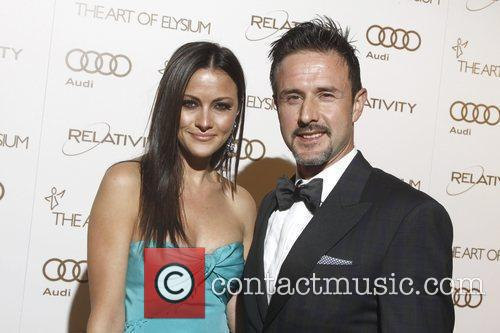 Christina Mclarty and David Arquette 3