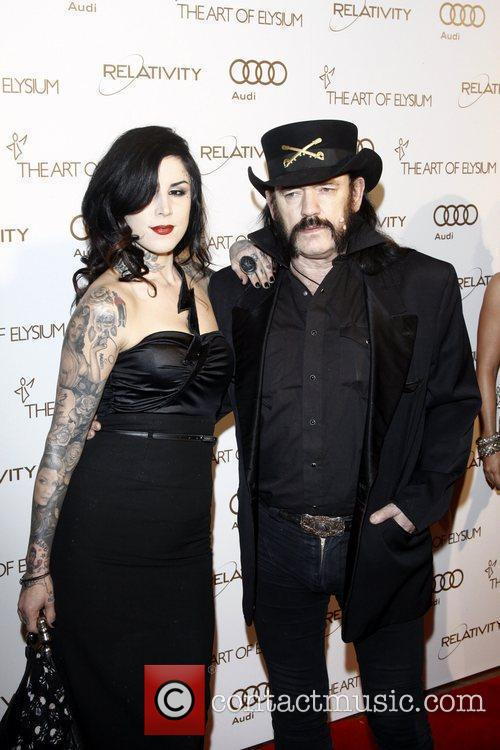Kat Von D and Lemmy