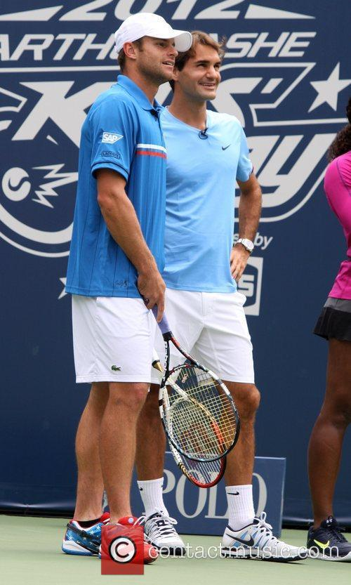 Arthur Ashe Kids' Day 2012 at the USTA...