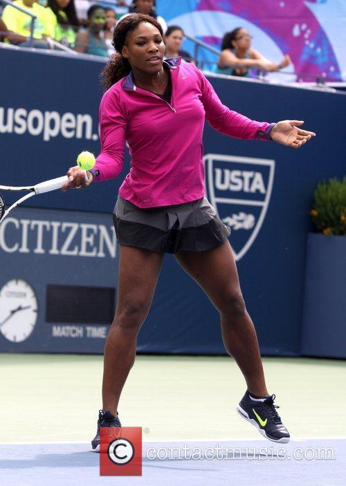 Serena Williams Arthur Ashe Kids' Day 2012 at...