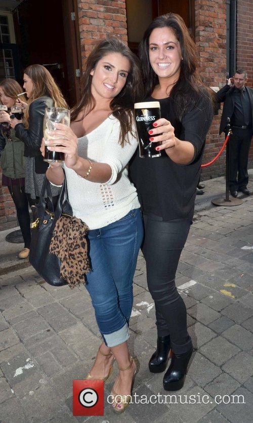 Niamh Markhem and Jessica Nolan Arthur's Day 2012...
