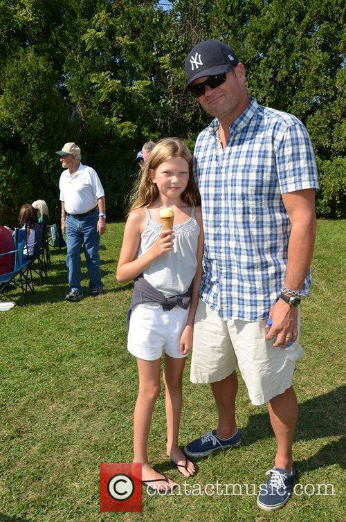 Chris Bauer and his daughter The 64th Annual...