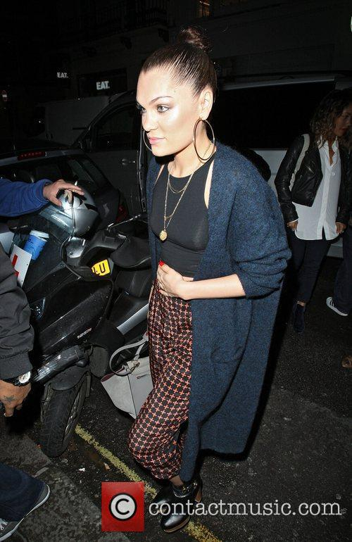 Jessie J at the Arts Club in Piccadilly...